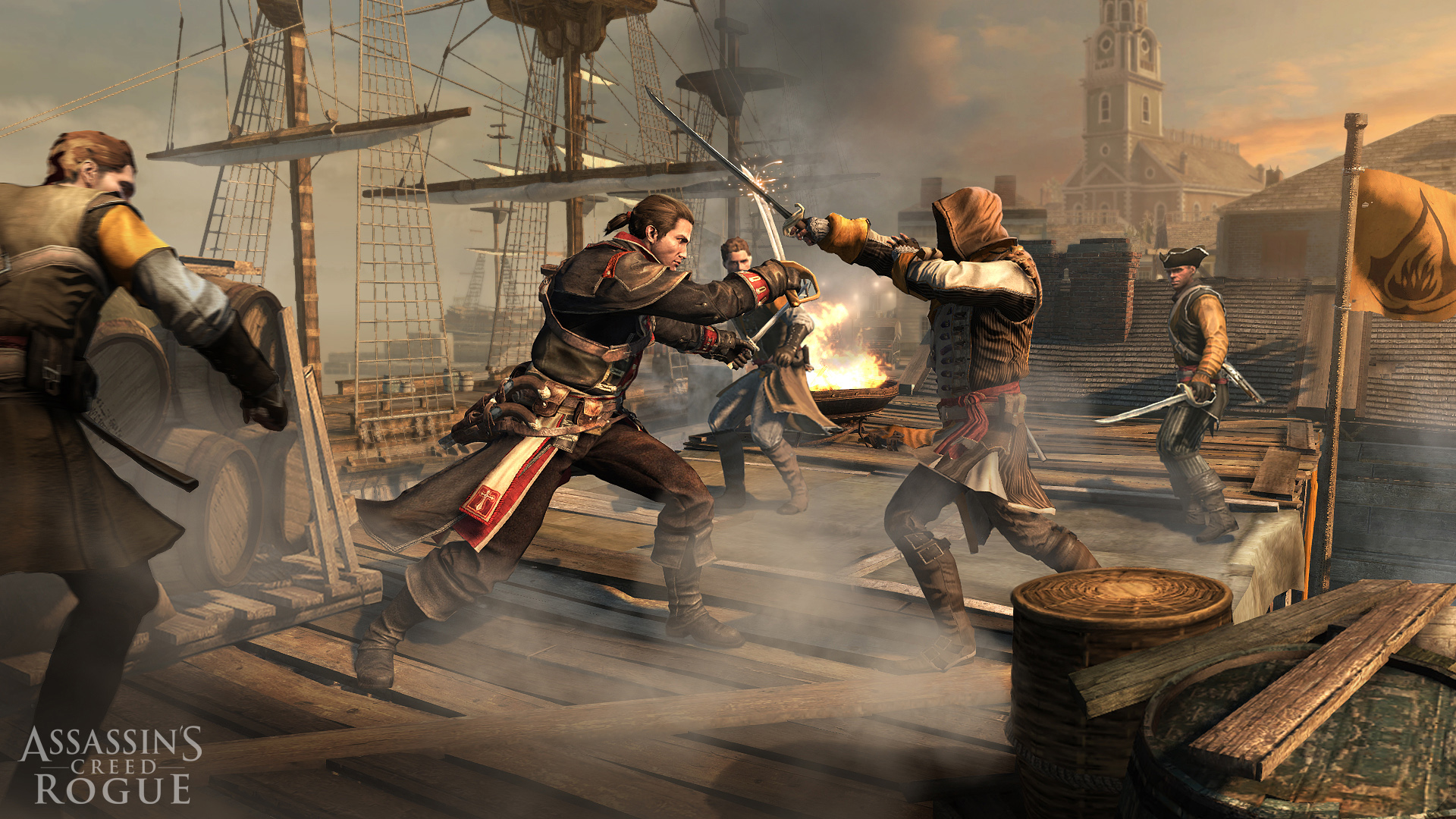 Assassin's Creed Rogue per PS3 e Xbox 360: storia e data d'uscita