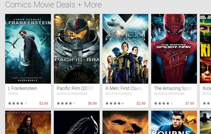 Film Play Store in sconto