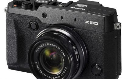 Fujifilm X30: scheda tecnica, uscita e prezzo
