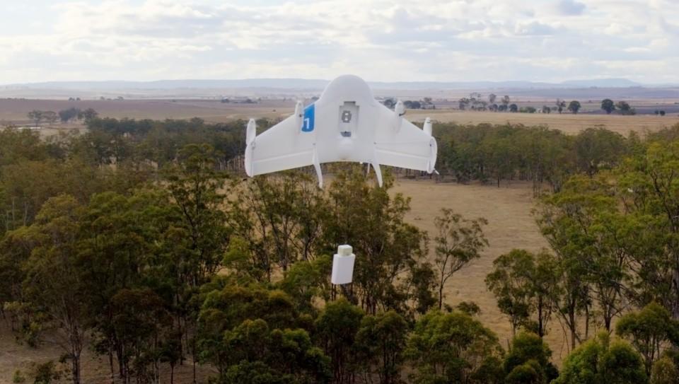 Project Wing, droni di Google per aiutare in zone di emergenza