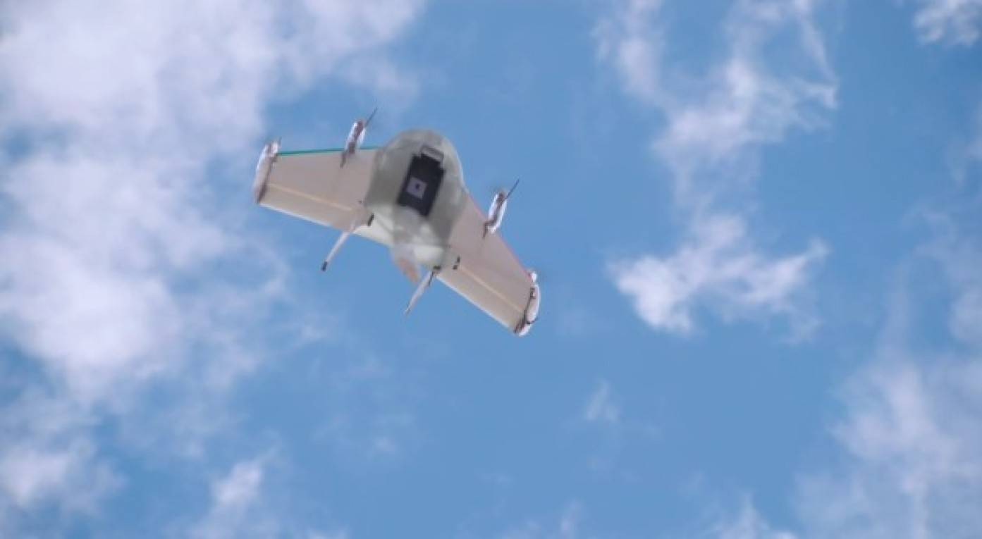 Google droni volanti