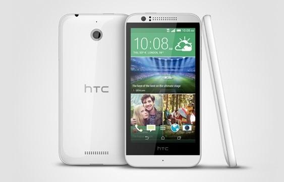 HTC Desire 510 design
