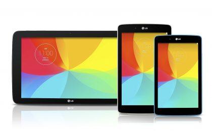 LG G Pad 7.0, 8.0 e 10.1: prezzo, uscita e scheda tecnica