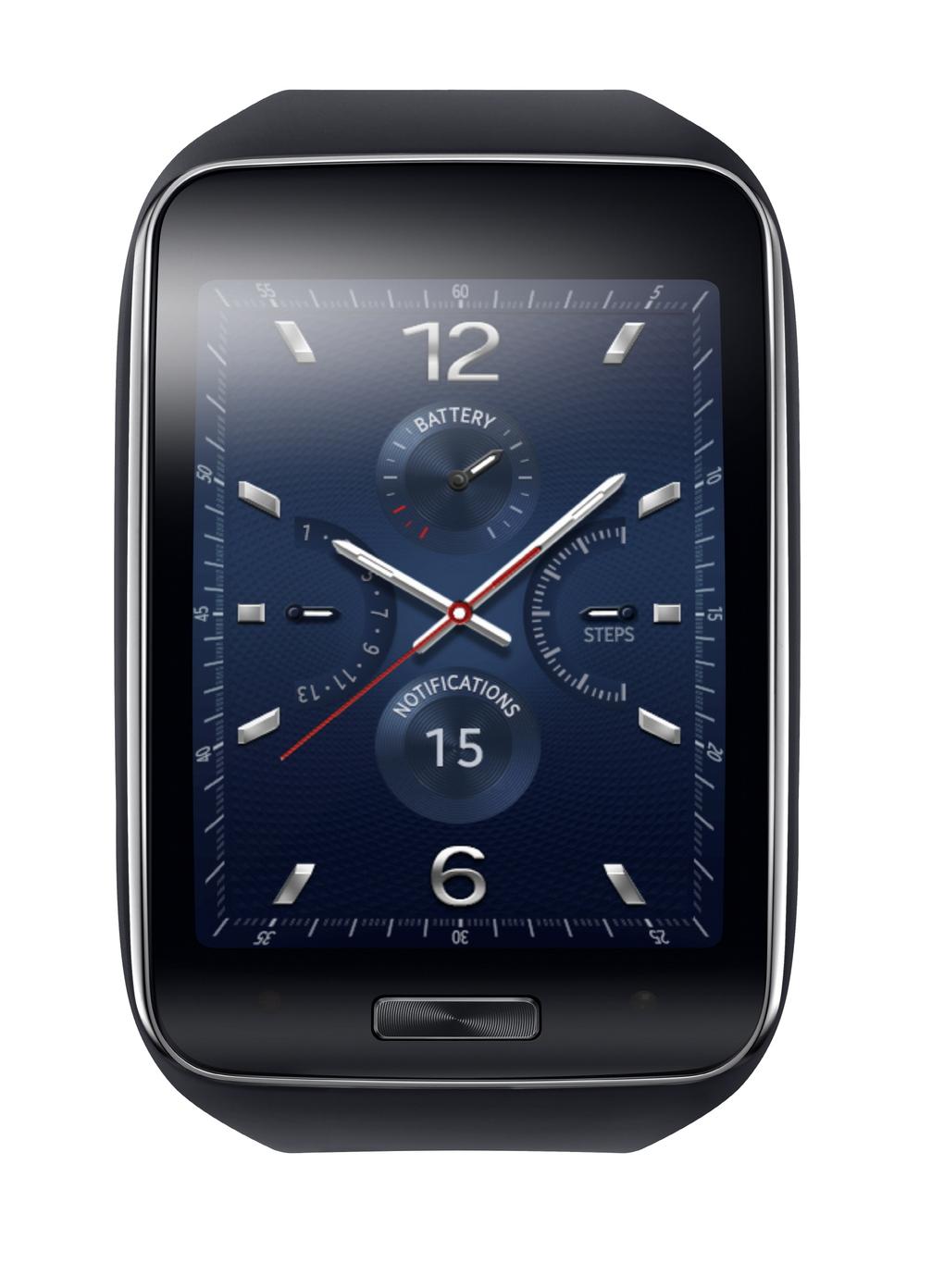 Samsung Gear S schermo