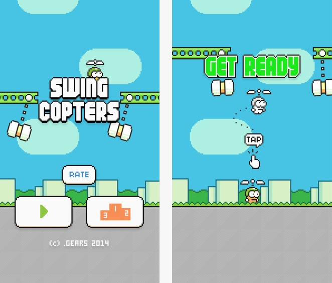 Swing Copter gioco