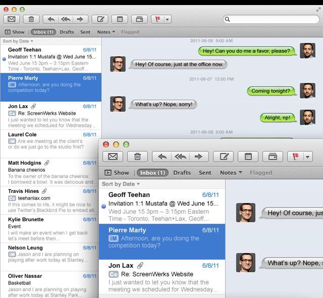 iMessage Mac