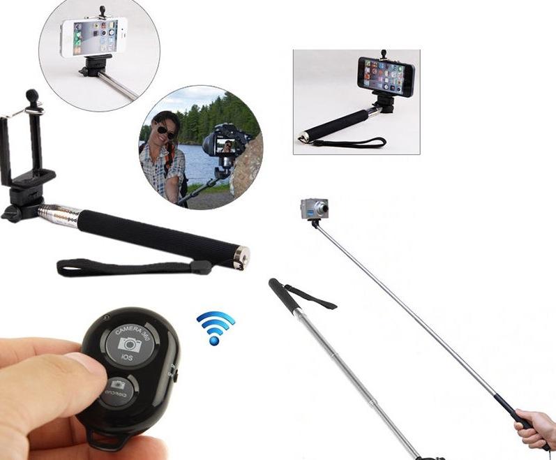 Asta Selfie con telecomando Bluetooth