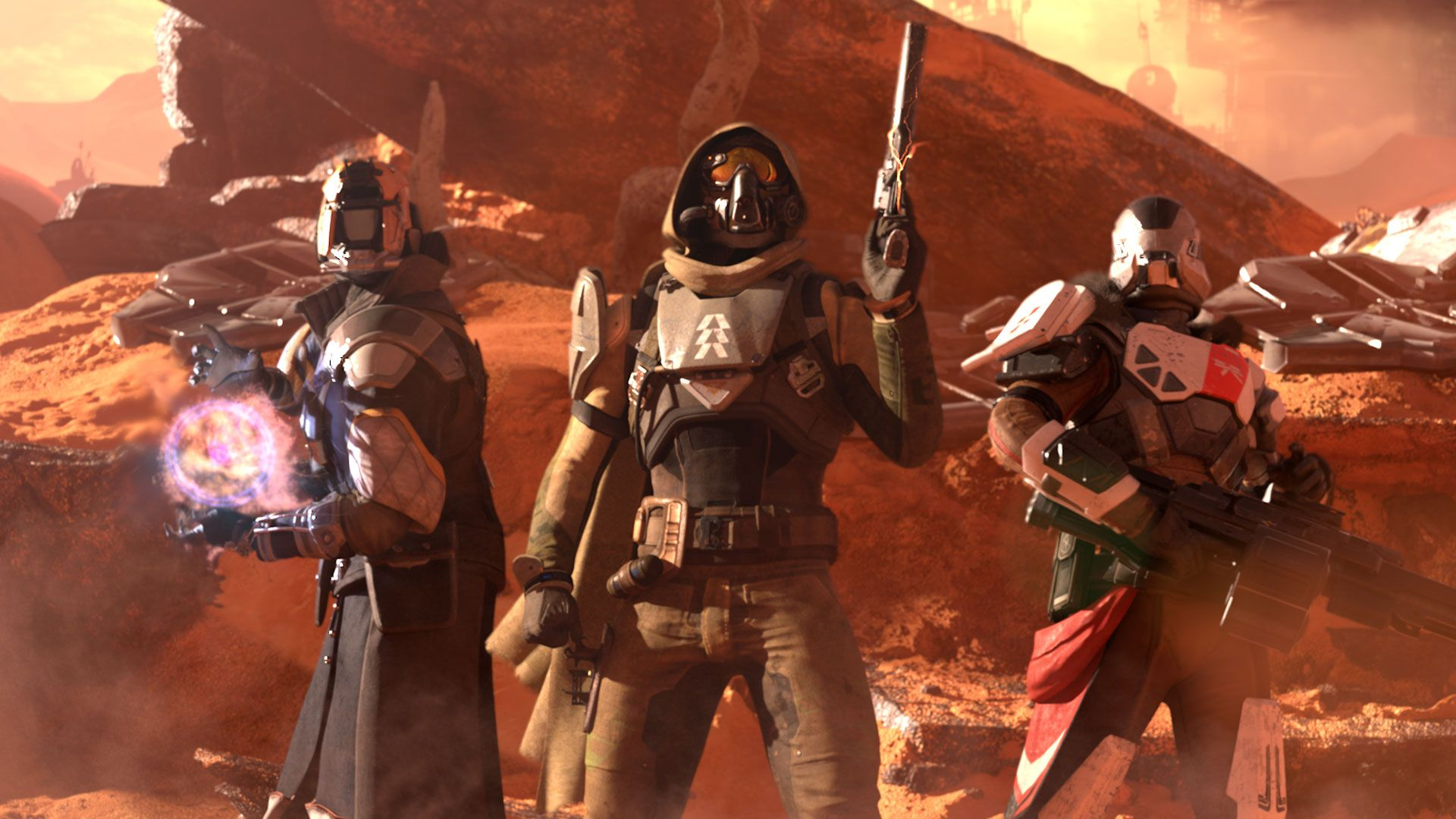 Destiny, le tre classi