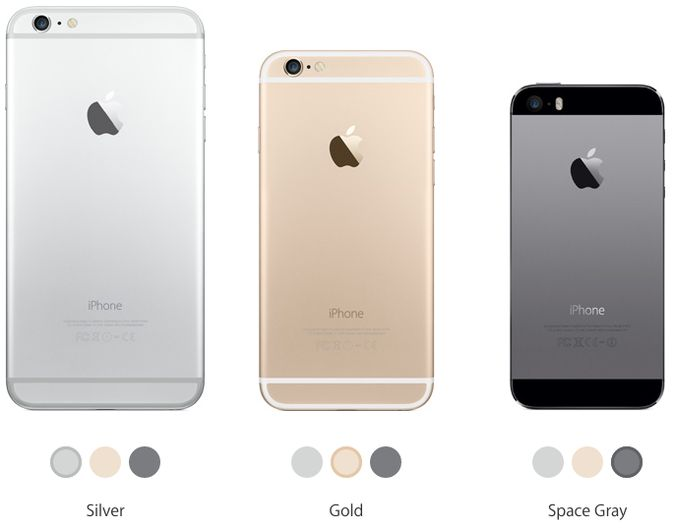 Differenze iPhone 6 Plus iPhone 5s