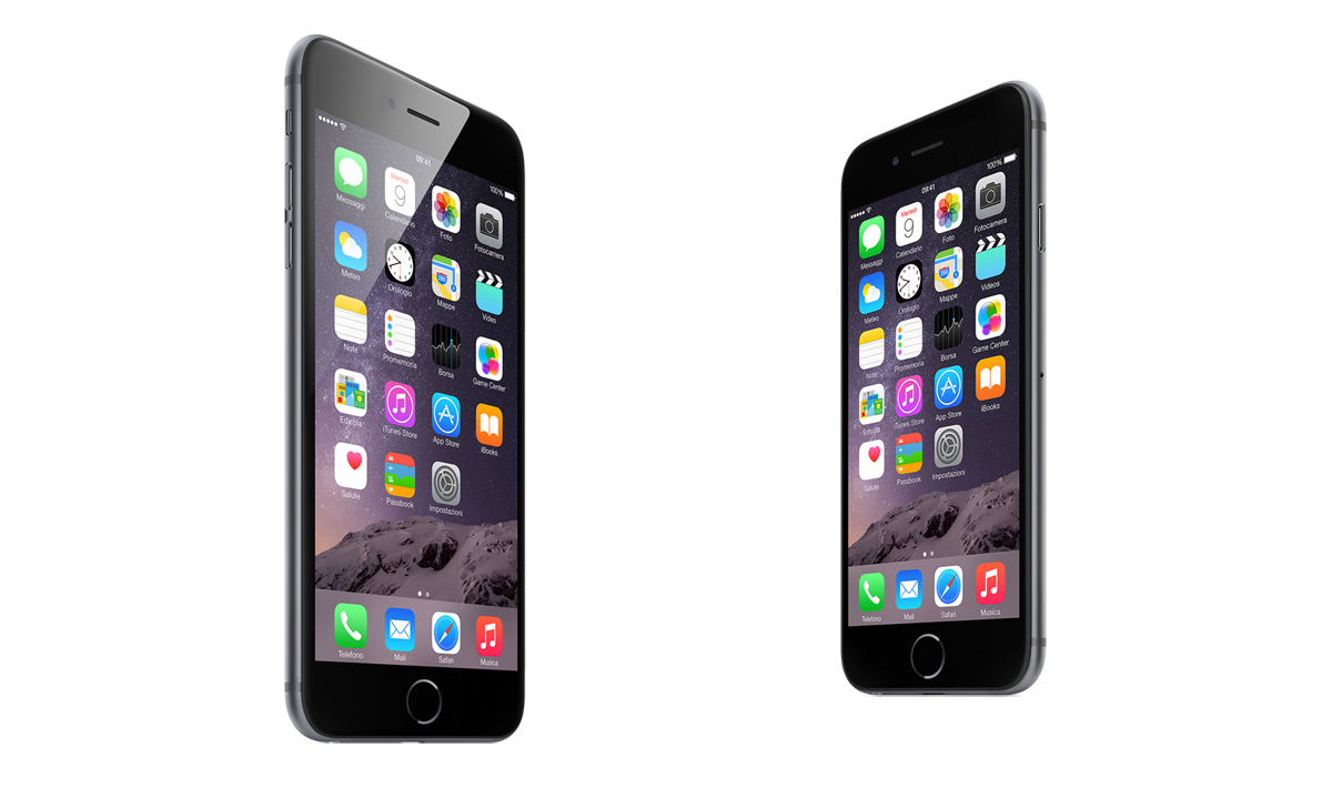 Differenze iPhone 6 e iPhone 6 Plus