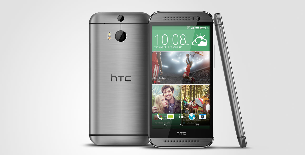 HTC One M8 metallico