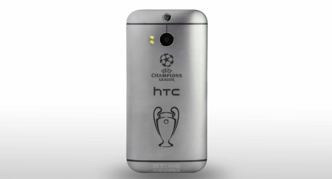 HTC One M8 Champions League Edition a tiratura limitata
