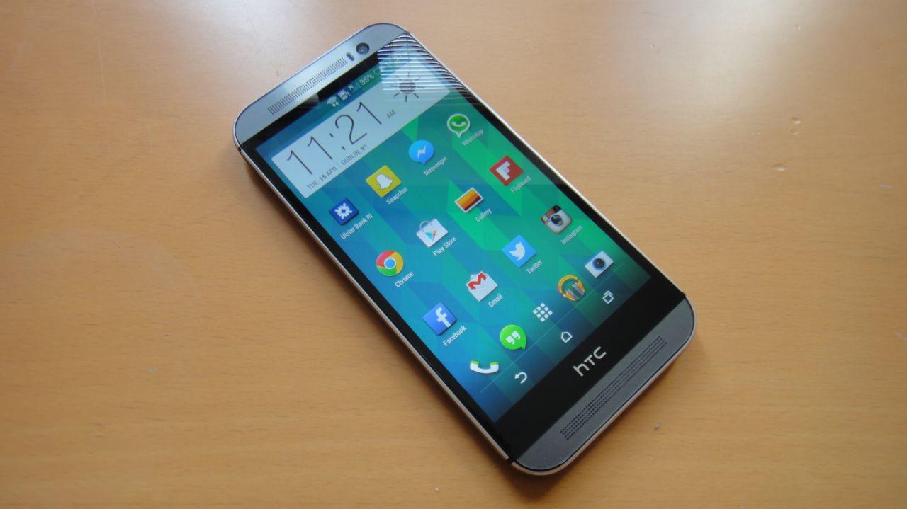 Lo schermo di HTC One M8