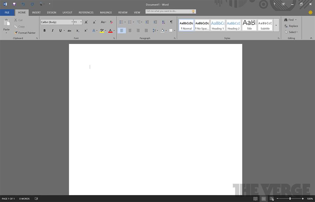 Microsoft Office 16 Word