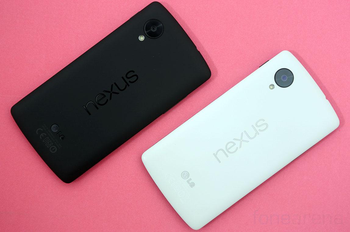 Nexus 5 colori