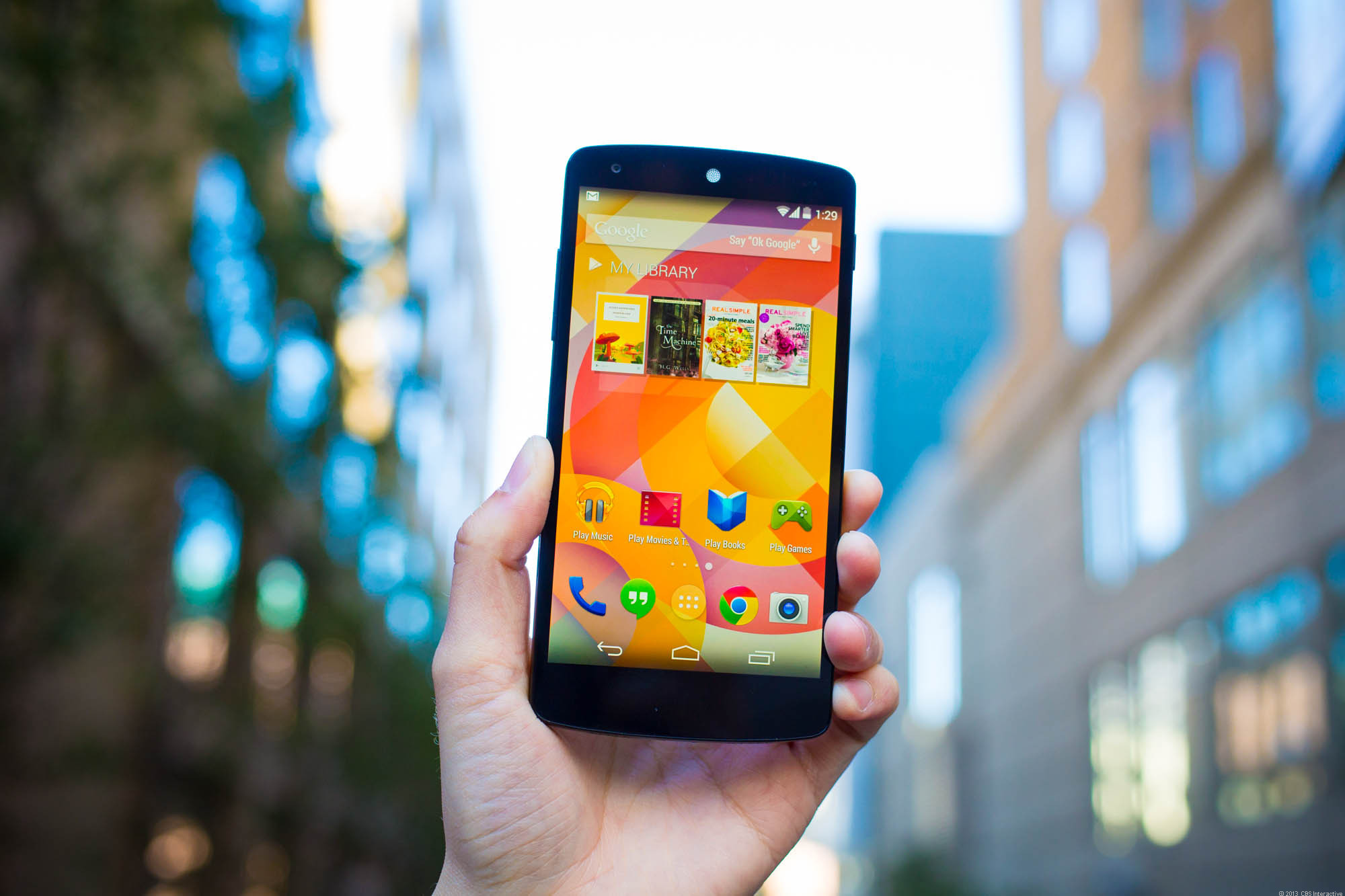 Nexus 5 confronto iPhone 6