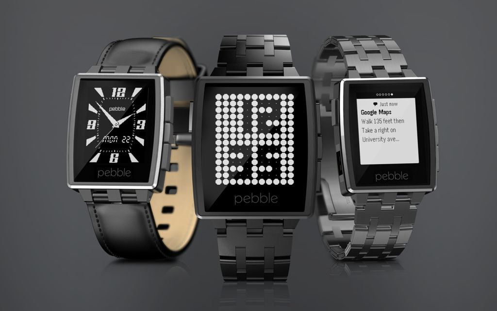 Pebble smartwatch si aggiorna e supporta iOS 8