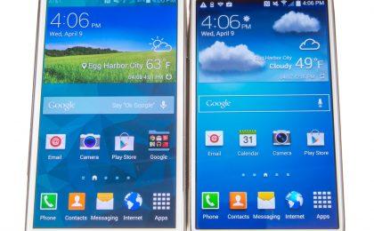 Samsung Galaxy Note 4 vs Galaxy S5: confronto e paragone