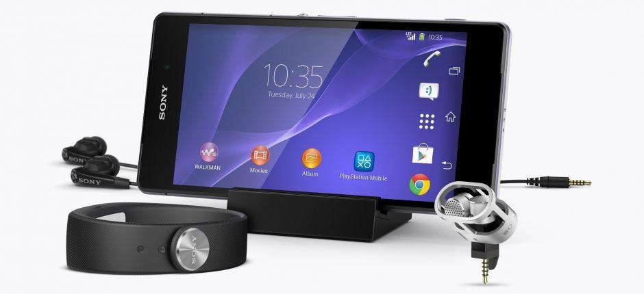 Sony Xperia Z2 cuffie