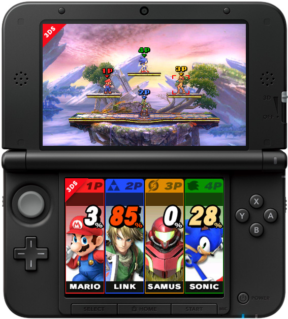 Super Smash Bros 3DS guida