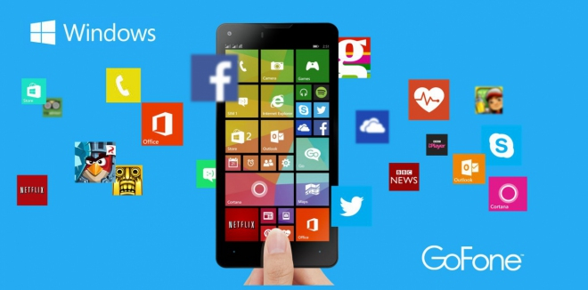 GoFone GF47W con Windows Phone: scheda tecnica completa