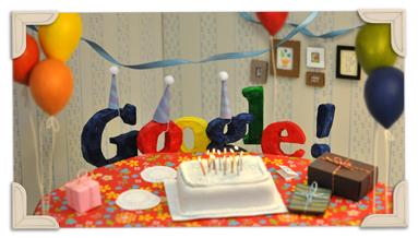 google 13esimo compleanno