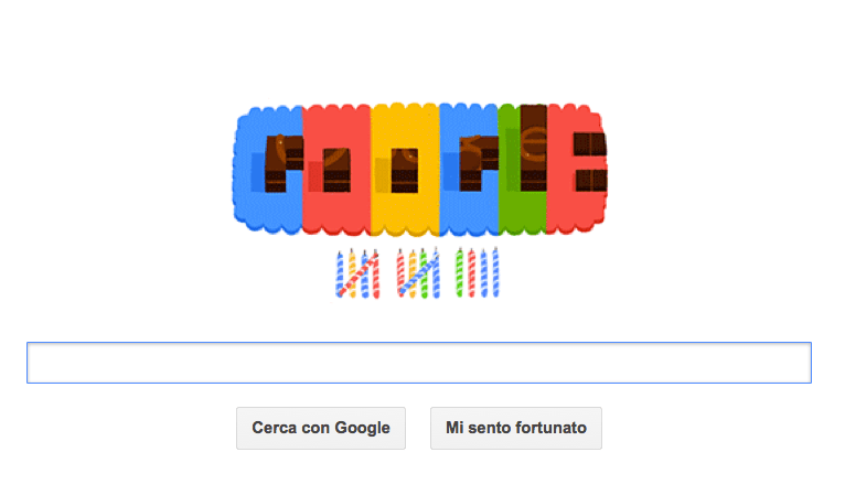 google doodle compleanno 14esimo