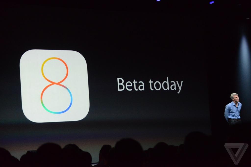 iOS 8 Beta uscita