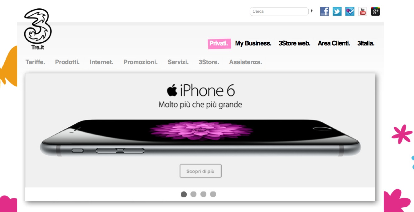 iPhone 3 Italia