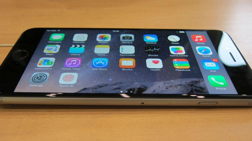 iPhone 6 Plus lato