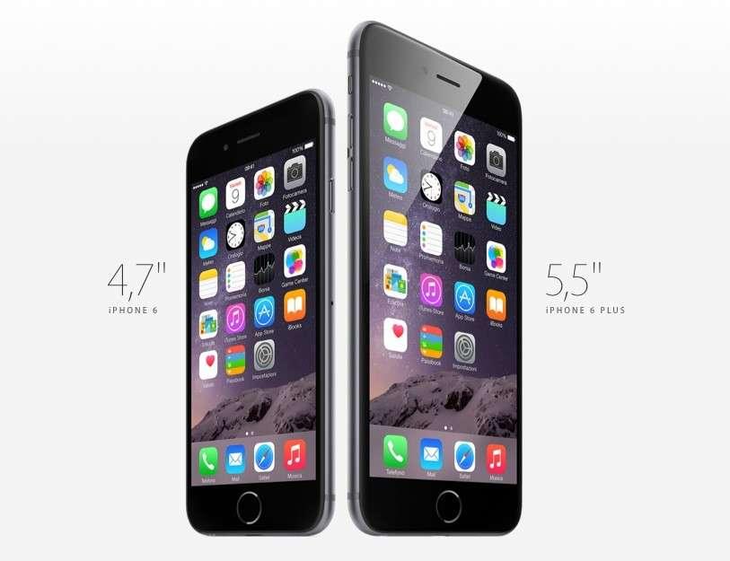 iPhone 6 scheda tecnica e caratteristiche ufficiali del melafonino
