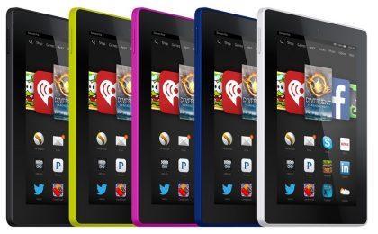 Amazon Kindle Fire HD 6 e 7: prezzi e schede tecniche