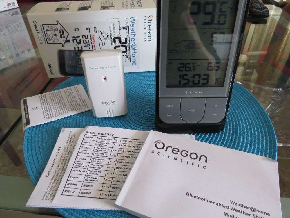 Oregon Scientific Weather@Home: test della stazione meteo per la casa