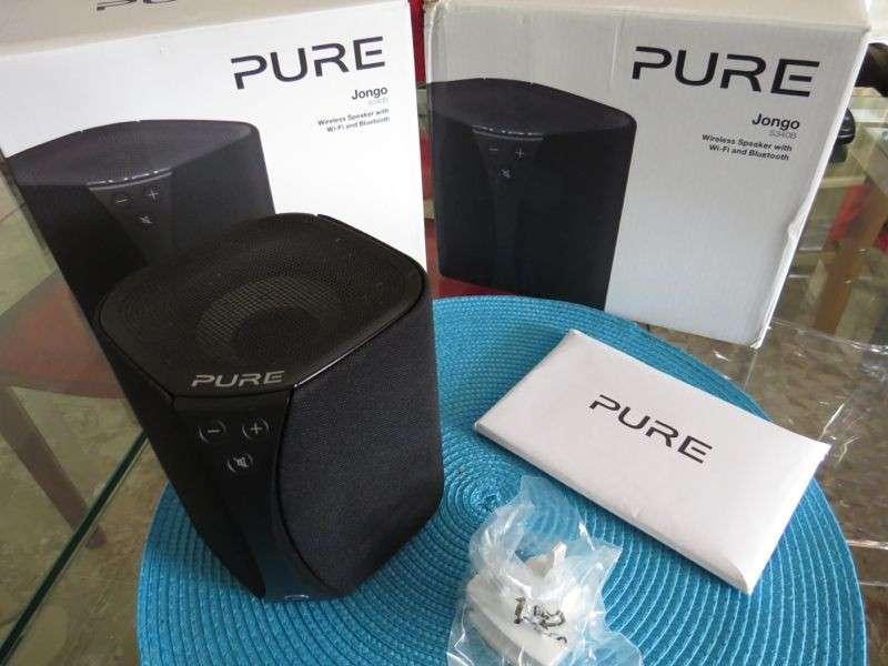 Pure Jongo S3: recensione degli altoparlanti wirless portatili