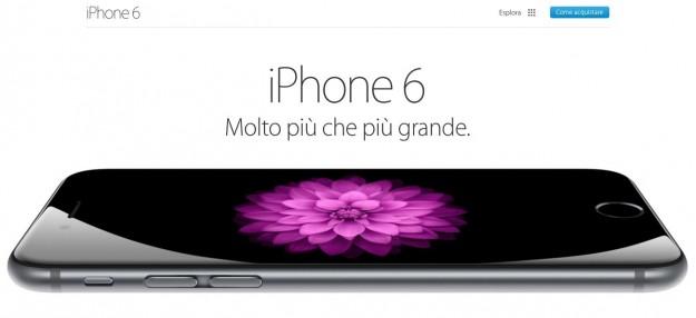 scheda tecnica iphone 6
