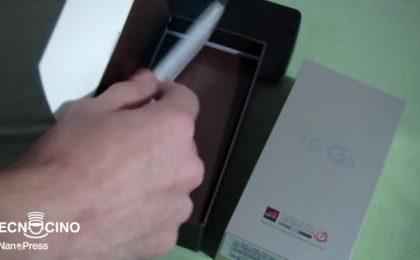 LG G3 video recensione completa e pro e contro