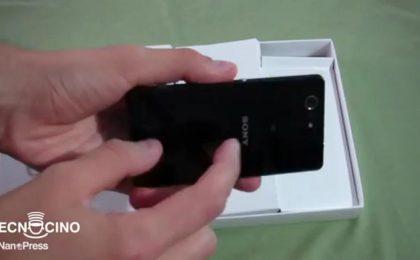 Sony Xperia Z3 Compact recensione e pro e contro [VIDEO&FOTO]