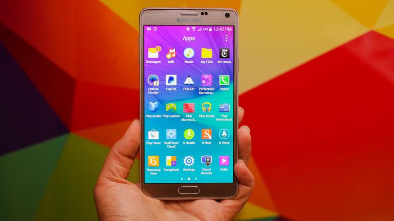 Applicazioni per Galaxy Note 4