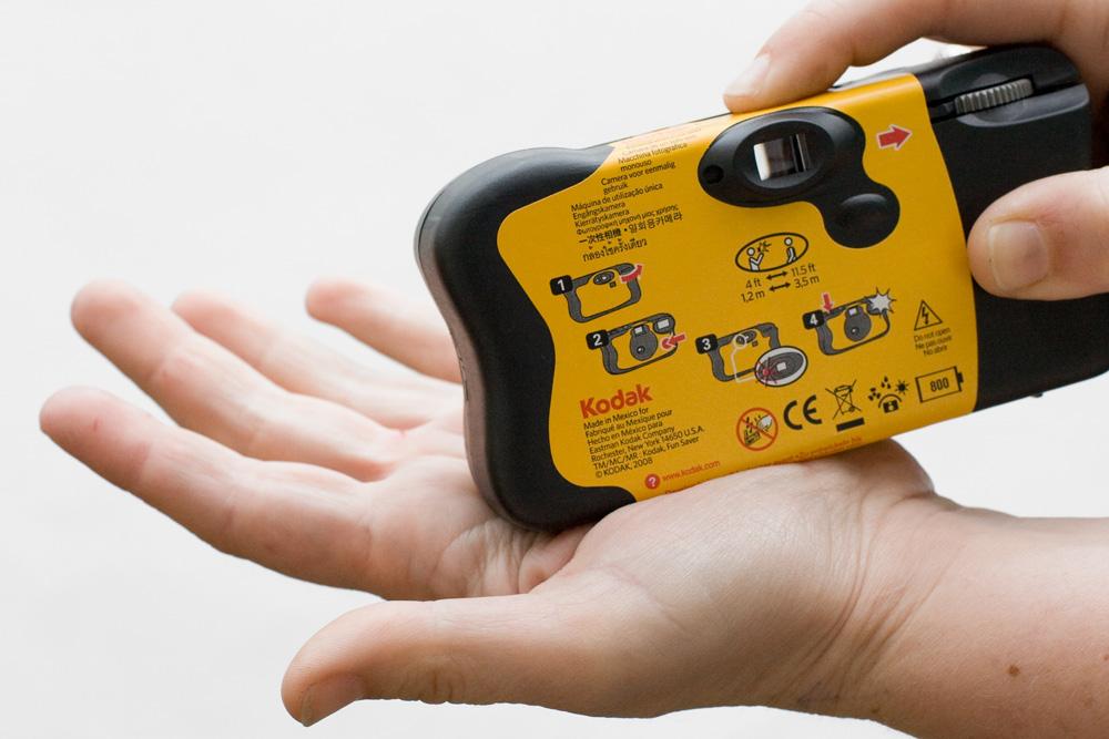 Flash fotocamera usa e getta