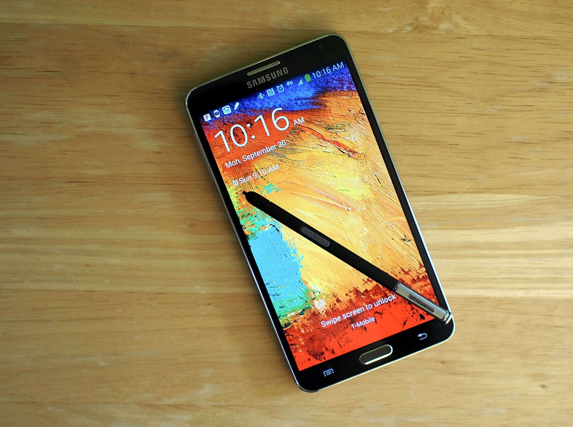 Galaxy Note 4 e TouchWiz