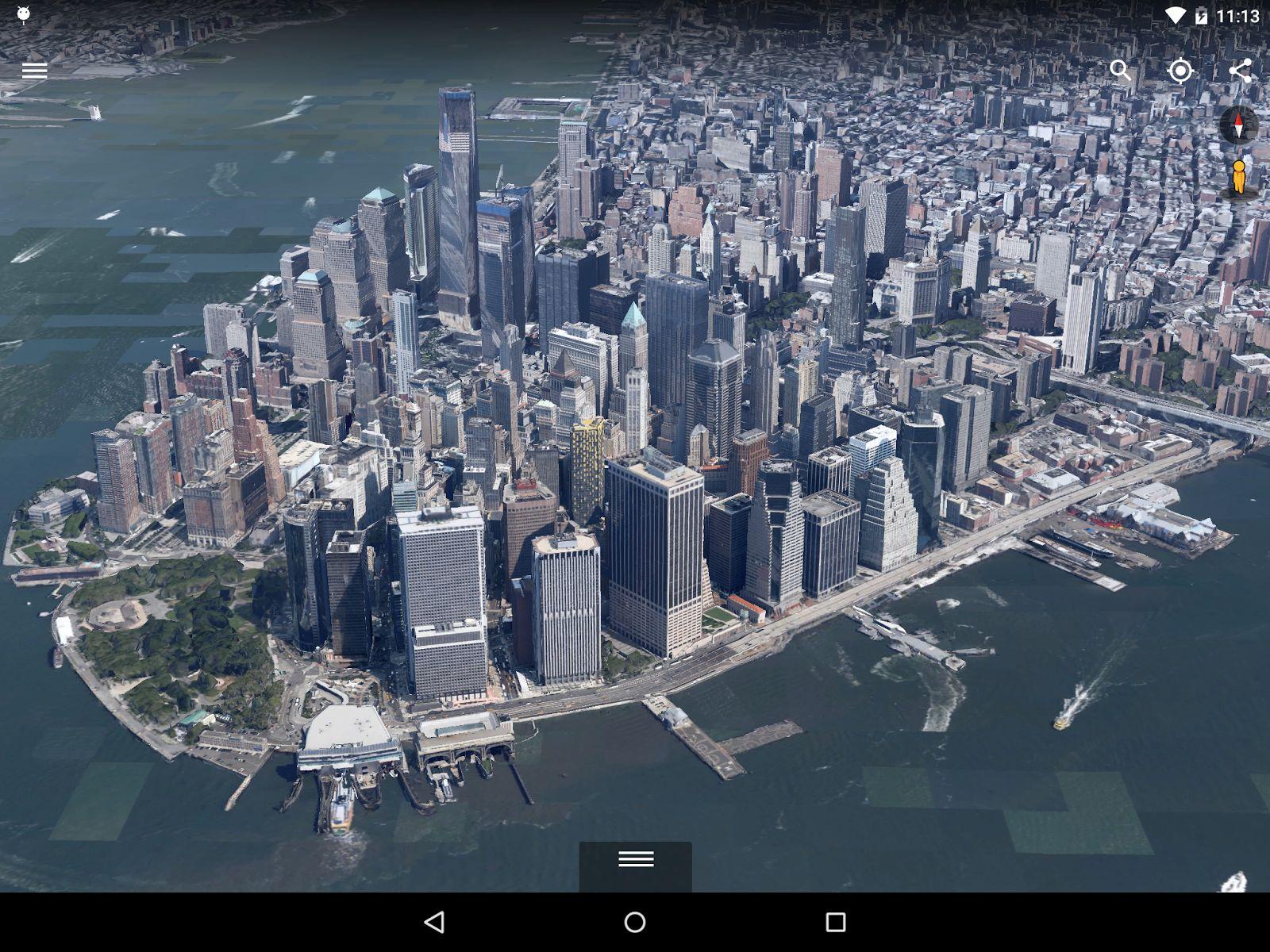 Google Earth 8.0 per Android: nuova tecnologia 3D e Material Design