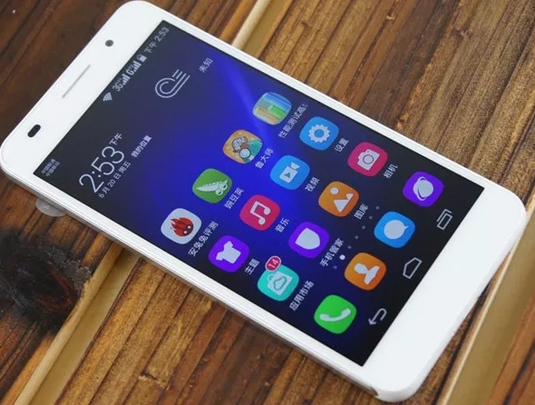 Huawei Honor 6 design