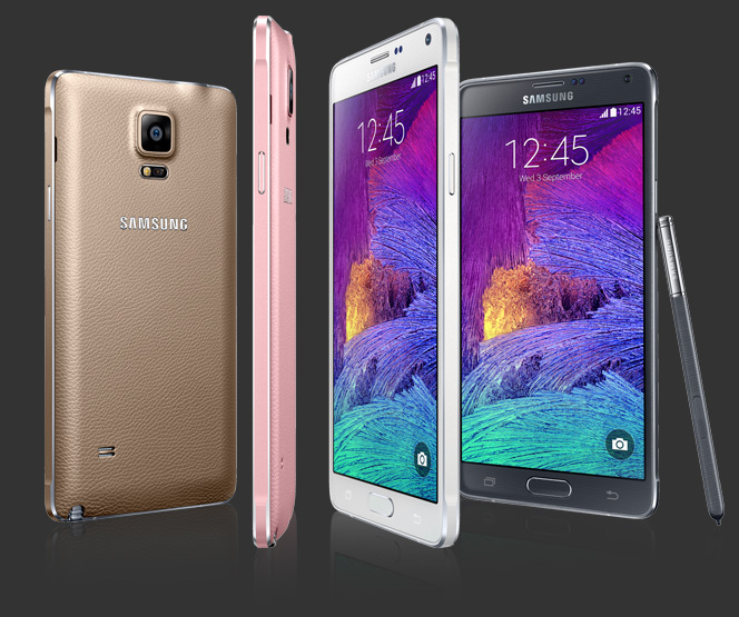 Il design di Galaxy Note 4