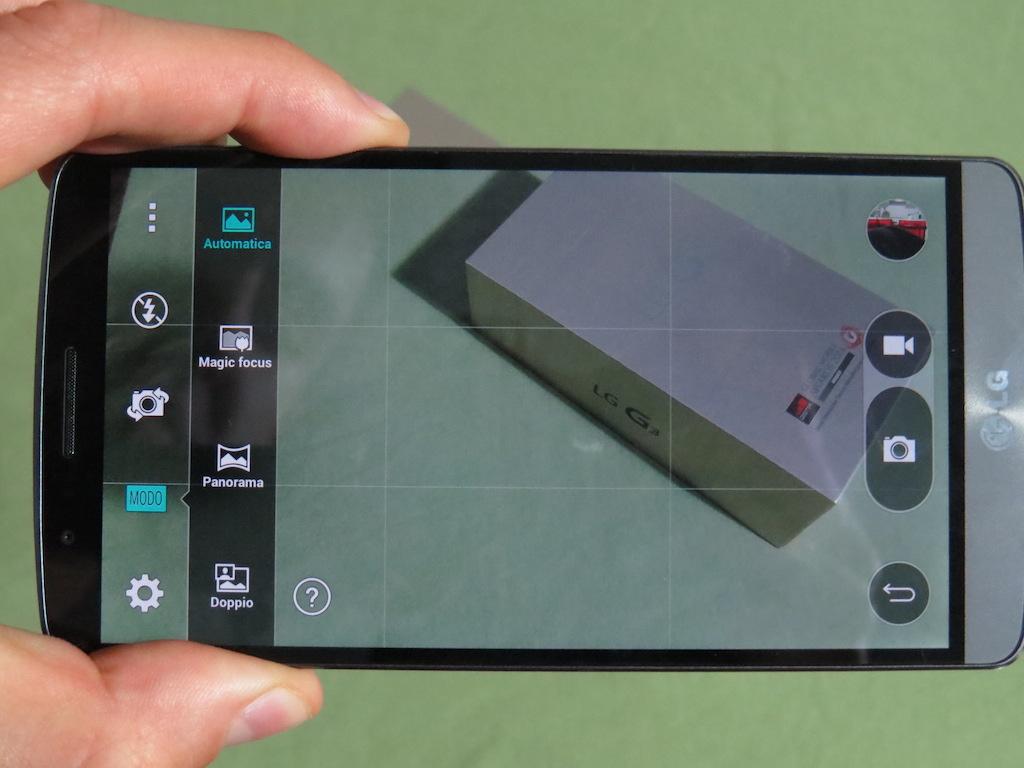 Impostazioni fotocamera LG G3