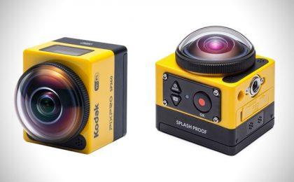 Kodak Pixpro SP360: nuova action cam per riprese a 360°
