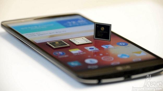 LG G3 Screen e Nuculum