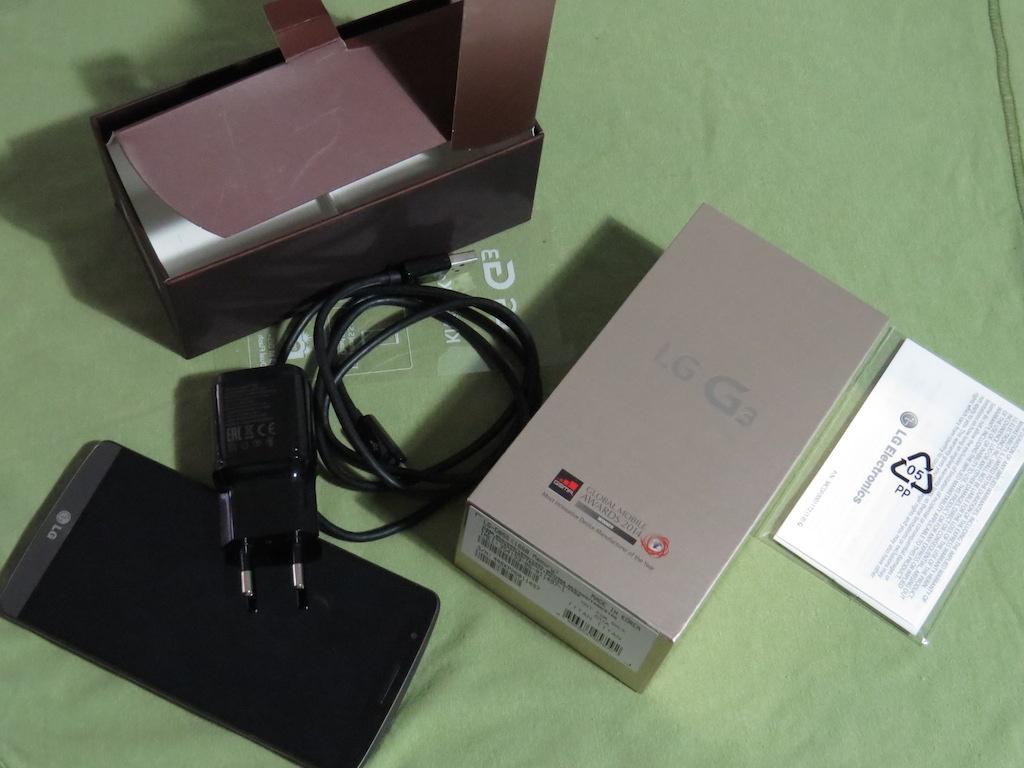 LG G3 e confezione acquisto