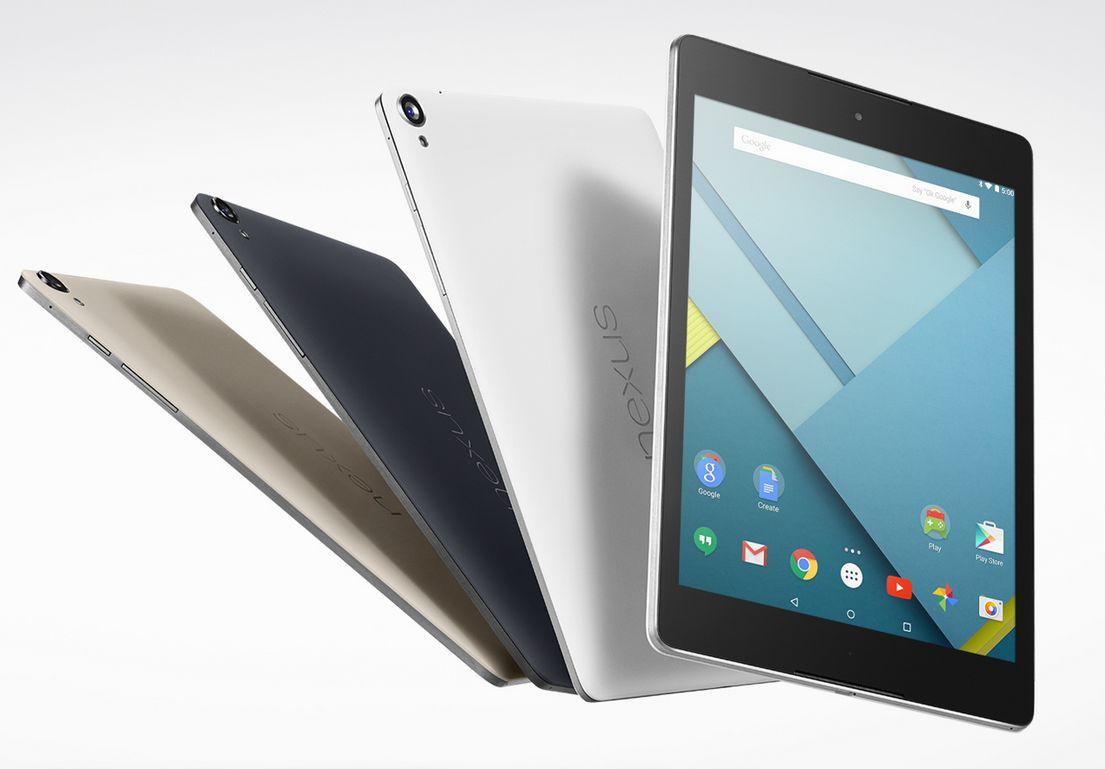 La scocca del Nexus 9