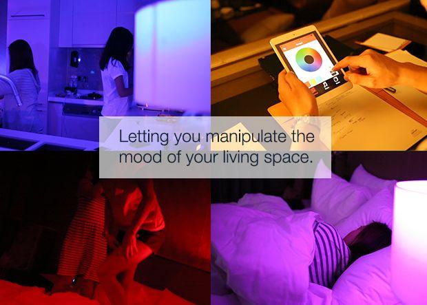Playbulb, lampadina a LED che si controlla dallo smartphone