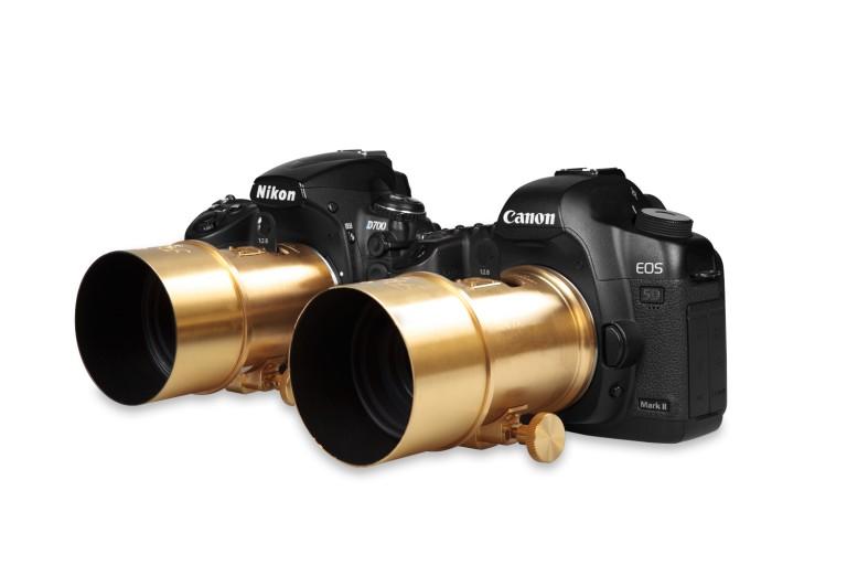 Lente Petzval Nikon e Canon